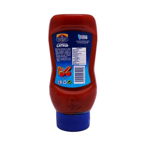 SALSA-CATSUP-CLEMENTE-J-SQUEEZABLE-454G