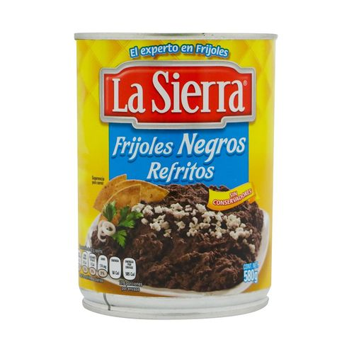 FRIJOLES-LA-SIERRA-NEGROS-REFRITOS-580GR