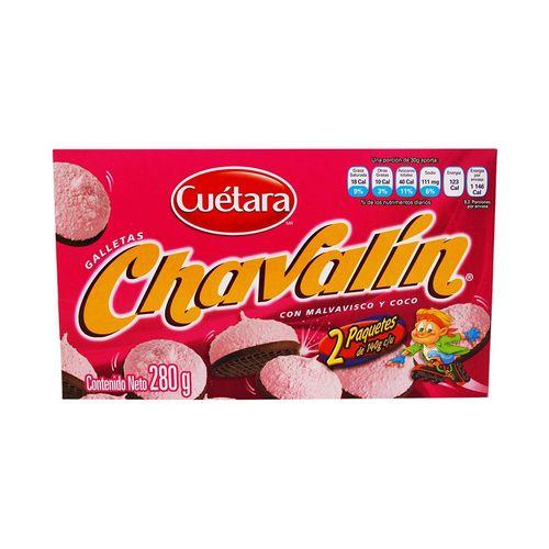GALLETAS-CUETARA-CHAVALIN-280GRS---1PZA