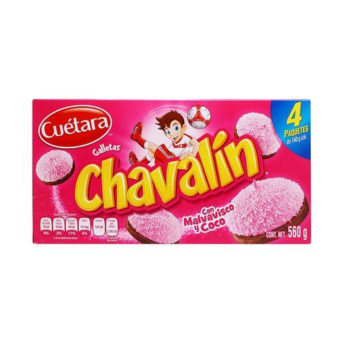 GALLETAS-CUETARA-CHAVALIN-560-GRS---1PZA
