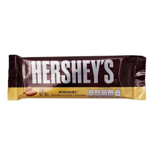 CHOCOLATE-HERSHEY-ALMENDRA---1PZA