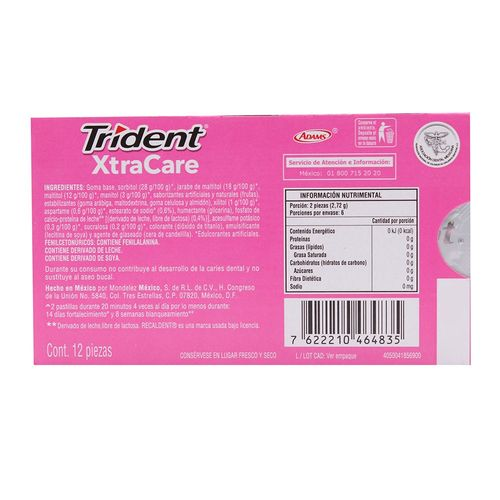 CHICLE-ADAMS-TRIDENT-XTRACARE-1P-COOL--
