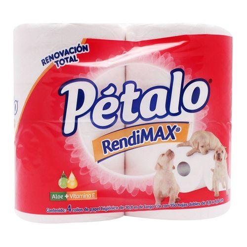PAPEL-HIGIENICO-PETALO-RENDIMAX-350-H-4R