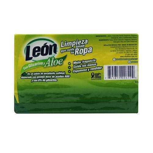 JABON-LEON-ALOE-VERA-CON-GLICERINA-350G