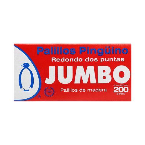 PALILLO-PINGUINO-JUMBO-REDONDO-200PALI---SIN-MARCA
