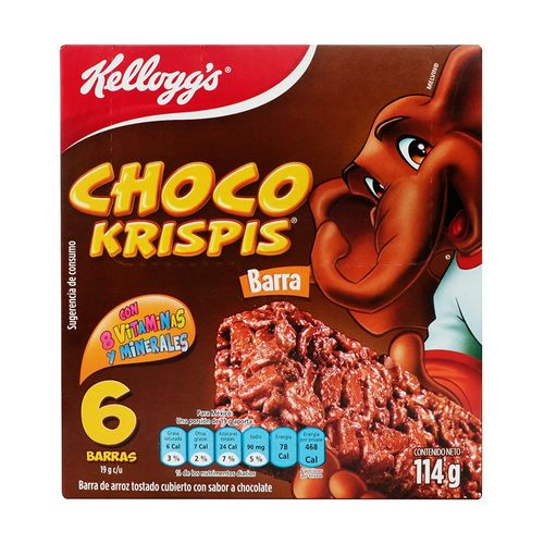 BARRAS-KELLOGGS--6-PZS-CHOCO-KRISPIS---KELLOGGS