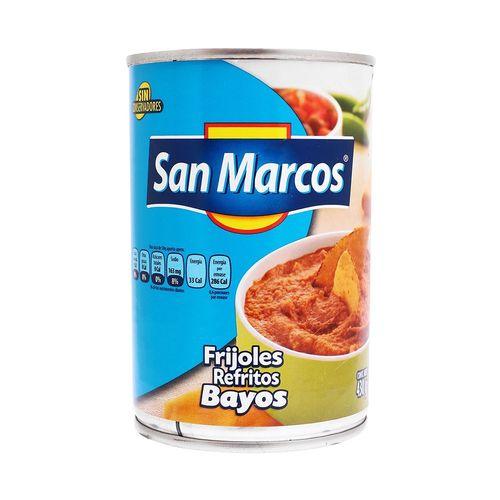 FRIJOLES-SAN-MARCOS-REFRITOS--454G-BAYOS---SAN-MARCOS