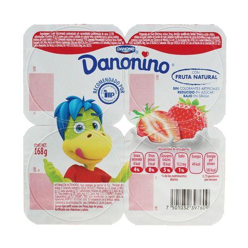 DANONINO-FRESA-168G--4X42G----DANONE