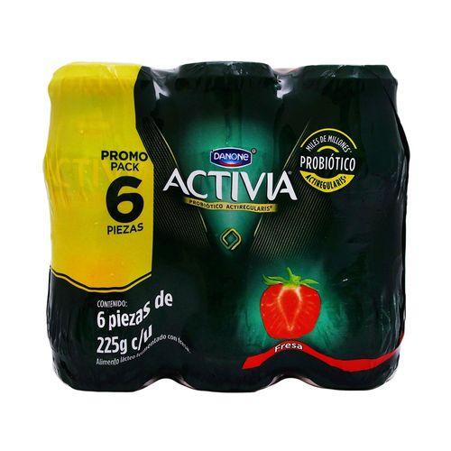 YOGHURT-ACTIVIA-MPCK-FRESA--6X225G----DANONE