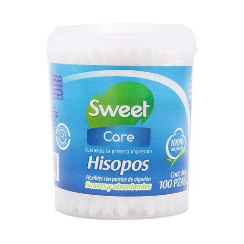HISOPOS-SWEET-CARE-BOTE-100-PZAS---SWEET-PLUS