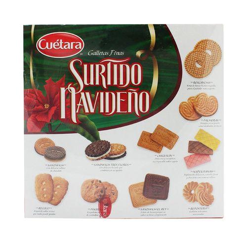 GALLETAS-CUETARA-SURTIDO-610GRS---CUETARA