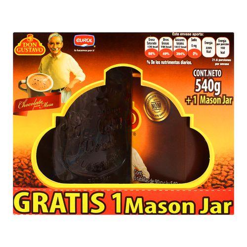 Choc-De-Mesa-Don-Gustavo--Paq-Jar---Don-Gustavo