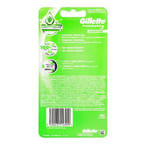 Rastrillo-Prestobarba3-Sensitive--6Pz----Gillette