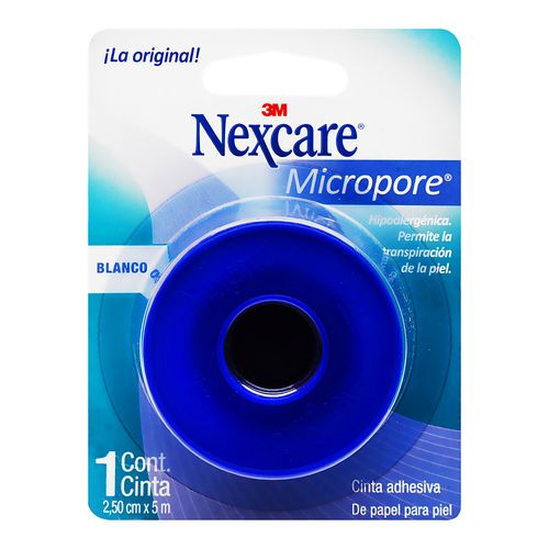 Micropore-3M-Mc-Blanco-25Cm-X5-Blister---Medicamentos