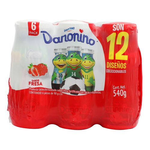 Danonino-Multipack-Bebible-Fresa-6X90---Danone