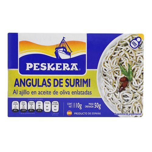 Angulas-Peskera-Surimi-Ajillo-Oliva-110G---Peskera