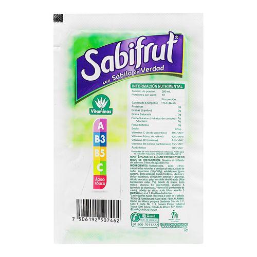 Polvo-Sabifrut-15-Grs-Sabila---Sabifrut