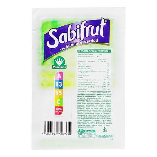 Polvo-Sabifrut-15-Grs-Limon---Sabifrut