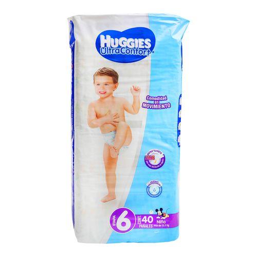 Pañal-Huggies-Ultra-C-Et-6-Niño-40P---Huggies