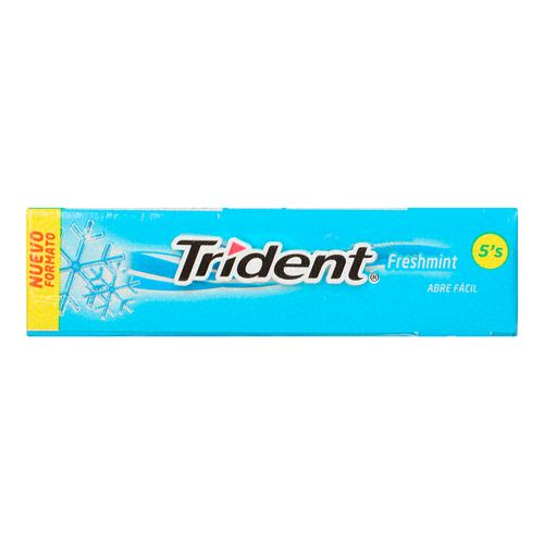 Chicle-Trident-5S-Fresh-Mint-13.5-G---Adams
