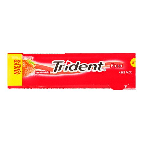 Chicle-Trident-5S-Fresa-13.5-G---Adams